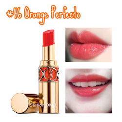 YSL Rouge Volupte Shine #46 Orange Perfecto (產品編號: S000702)