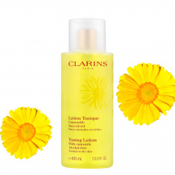 Clarins Toning Lotion With Camomile Alcohol-free Normal to Dry 400ml (產品編號: S000209)