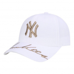 MLB Cpik Curve Adjustable Cap New York Yankees Steel  # 32CPIK861-50I-FREE (產品編號: S000359)