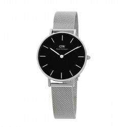 Daniel Wellington Classic Petite Sterling Stainless Steel Watch  # DW00100162 (產品編號: S000647)