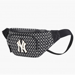MLN New York Yankees Monogram Waist Bag #32BGC9911 (Black)  (產品編號: S000389)