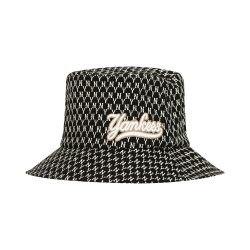 MLB NY Monogram Bucket Hat (Black)  #32CPH1941-50L (產品編號: S000420)