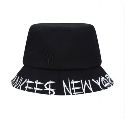 MLB New York Yankees Bucket Hat (Black)  #32CPH3911-50L / 3941-50L-59H (產品編號: S000501)