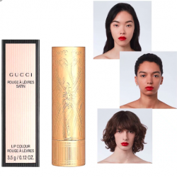 Gucci Rouge A Levres Satin Lip Color 3.5g #25 Goldie Red